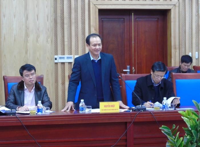 Đoàn làm viêc với tỉnh Nghệ An