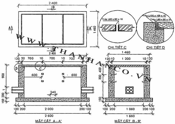 Tiêu chuẩn nắp bể cáp -4