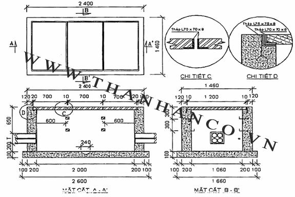 Tiêu chuẩn nắp bể cáp -3