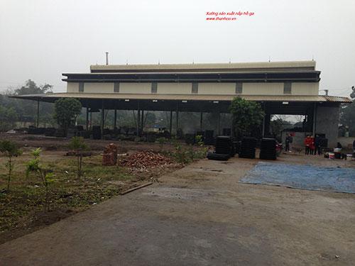 Xưởng sản xuất nắp hố ga